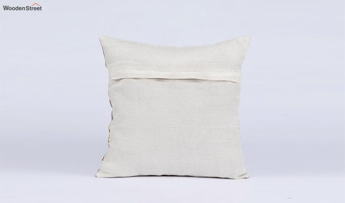 Classy Pattern Jute Cushion Covers (Set of 5)-5