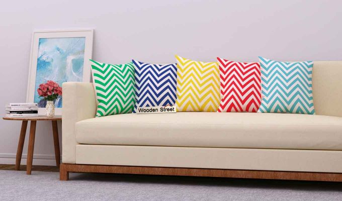 Cornrow Colours Cushion Covers (Set of 5)-1