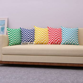 Cornrow Colours Cushion Covers (Set of 5)