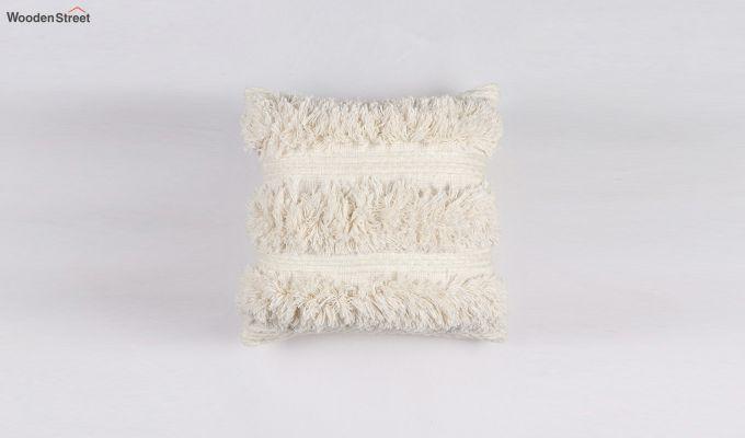 Cream Cloud Tufted Cushion Cover-2