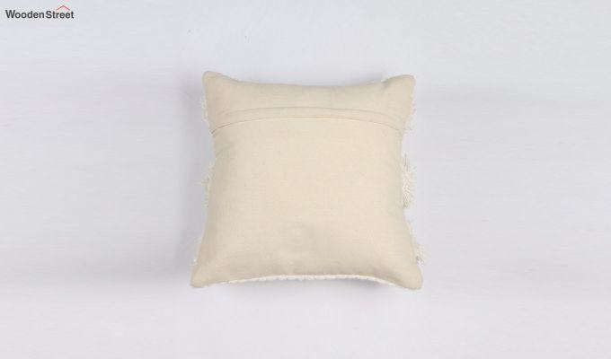 Cream Cloud Tufted Cushion Cover-3