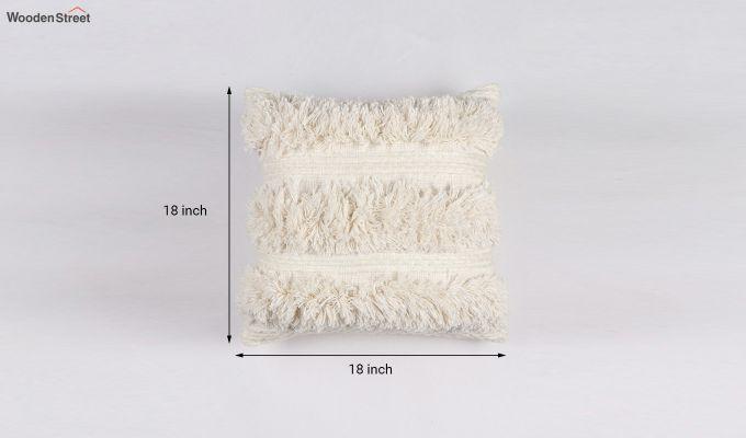 Cream Cloud Tufted Cushion Cover-4