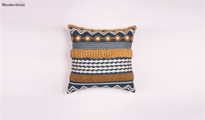 Dutch Gold Embroidered Cushion Cover-1