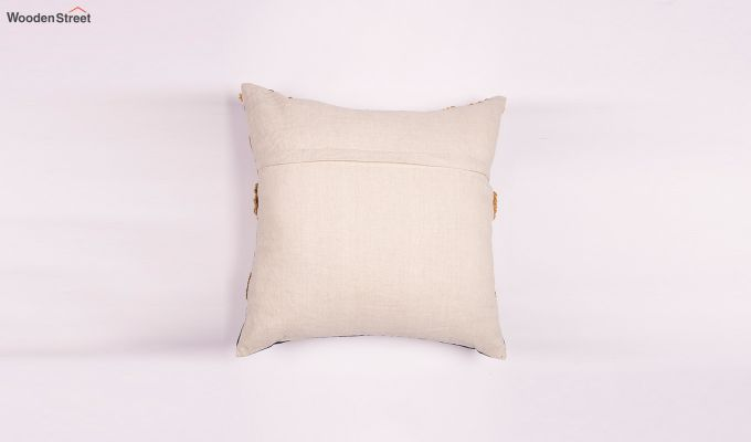 Dutch Gold Embroidered Cushion Cover-2