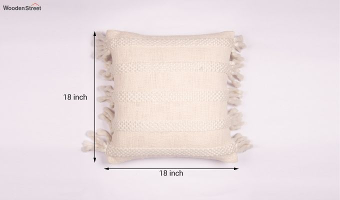 Foamy Shell Tufted Cushion Cover-4