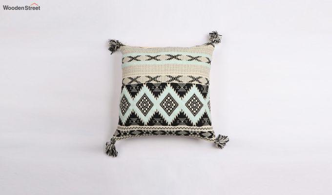 Greek Coat Jacquard Cushion Cover-1