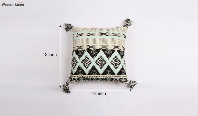Greek Coat Jacquard Cushion Cover-3