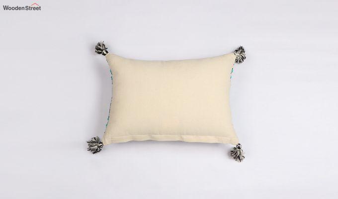 Greek Sky Jacquard Cushion Cover-2