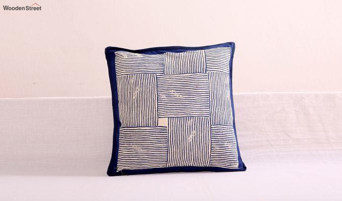 Indigo Haze Cushion Cover (Set Of 4)-2