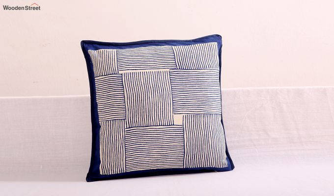 Indigo Haze Cushion Cover (Set Of 4)-3