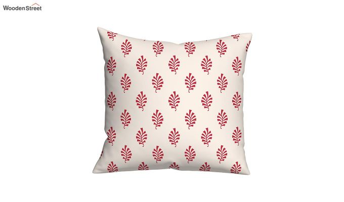 Lotus Red Cushions (Set of 5)-3