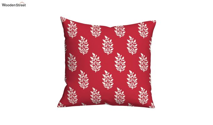 Lotus Red Cushions (Set of 5)-4