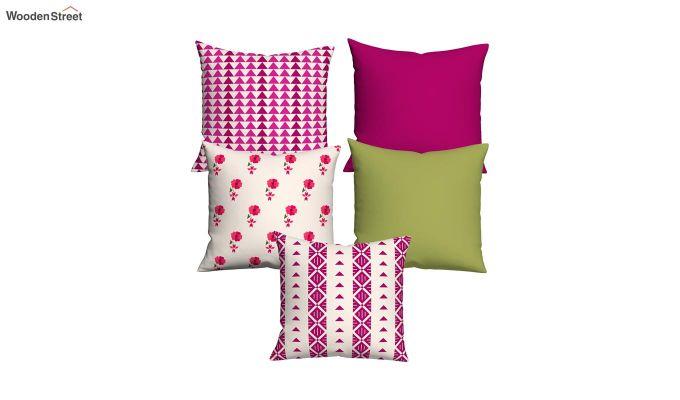 Marvel Magenta Cushions (Set of 5)-2