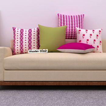 Marvel Magenta Cushions (Set of 5)