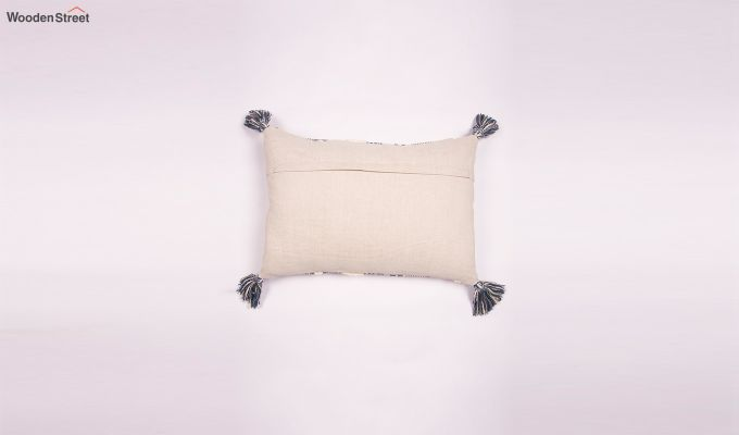 Smoked Marble Embroidered Cushion Cover-2