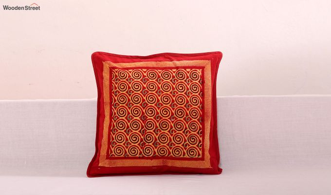 Spiral Bands Cushion Cover (Set Of 3)-1
