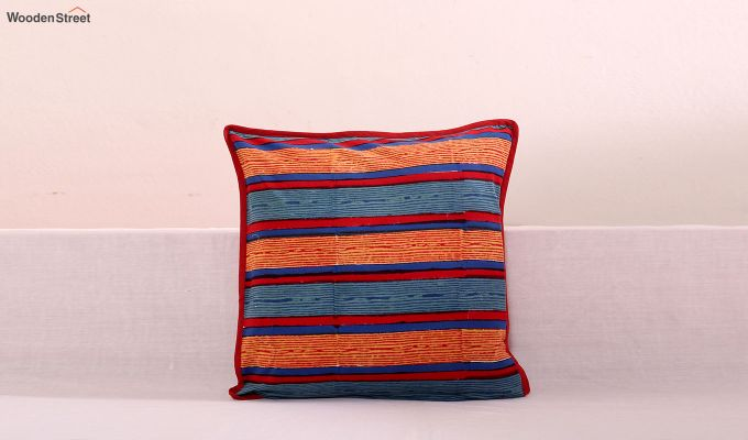 Spiral Bands Cushion Cover (Set Of 3)-3