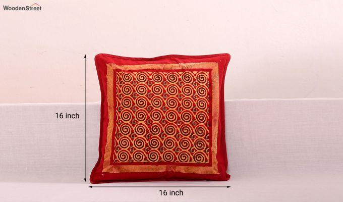Spiral Bands Cushion Cover (Set Of 3)-4