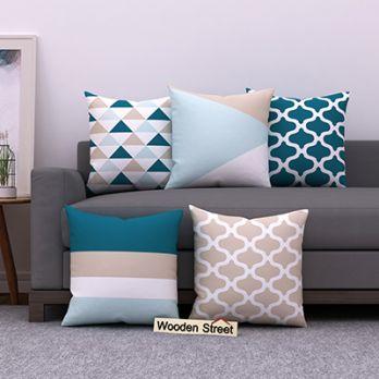 Sugar Pastels Cushion Covers (Set of 5)