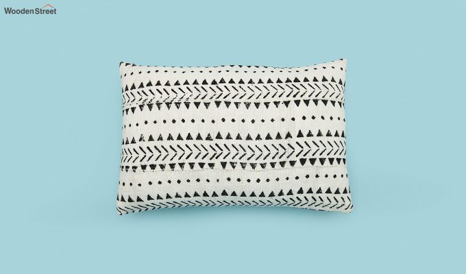 Tribal Peaks Mud Printing Cushion Cover-2