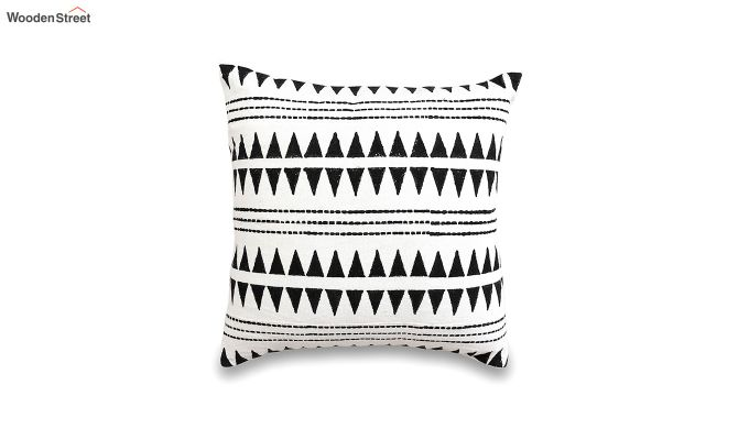 Tribal Spikes Mud Printing Cushion Cover-2