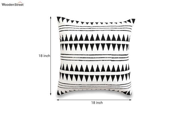 Tribal Spikes Mud Printing Cushion Cover-5