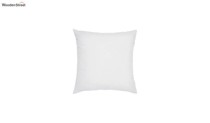 White Synthetic Fill Cushion - 18 x 18 inch-1