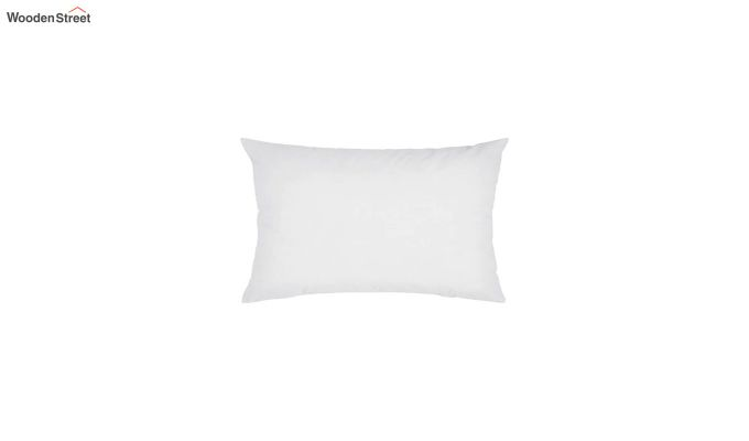 White Synthetic Fill Cushion - 20 x 14 inch-1