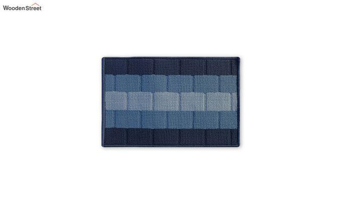 "Blue Anti Skid Nylon Door Mat (23"" x 15"")-2"