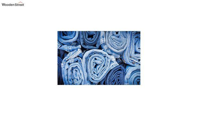 "Blue Nylon 3D Printed Door Mat (23"" x 15"")-2"