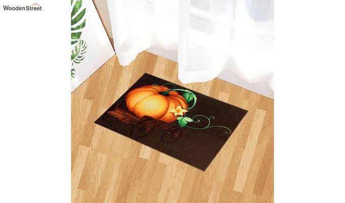 """Brown 3D Digital Printed Nylon Door Mat (23"""" x 15"""")-1"""