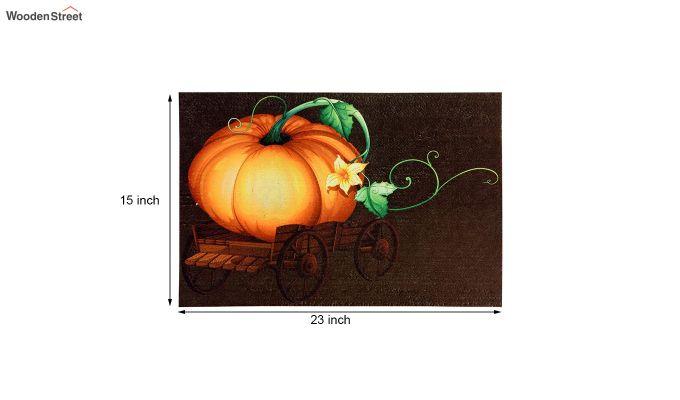 """Brown 3D Digital Printed Nylon Door Mat (23"""" x 15"""")-4"""
