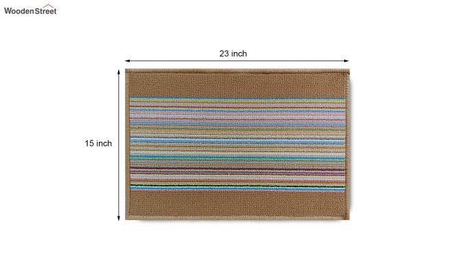 "Brown Anti Slip Nylon Floor Mat (23"" x 15"")-8"
