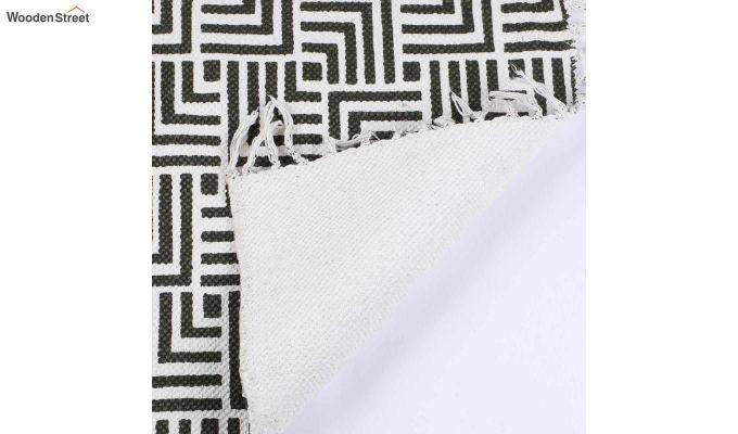 """Brown Cotton Anti Skid Door Mat (24"""" x 16"""")-4"""