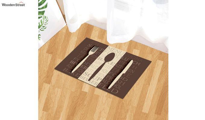 """Brown Nylon 3D Printed Anti Skid Door Mat (23"""" x 15"""")-1"""