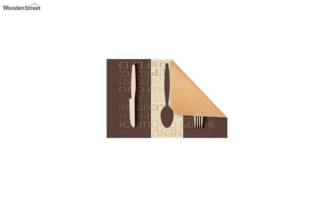"""Brown Nylon 3D Printed Anti Skid Door Mat (23"""" x 15"""")-3"""
