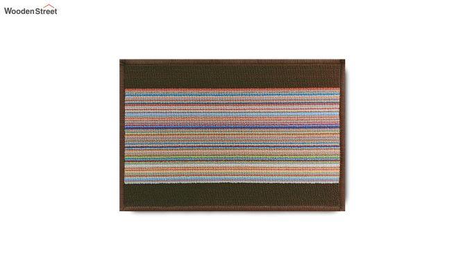"Brown Nylon Anti Slip Door Mat (23"" x 15"")-7"