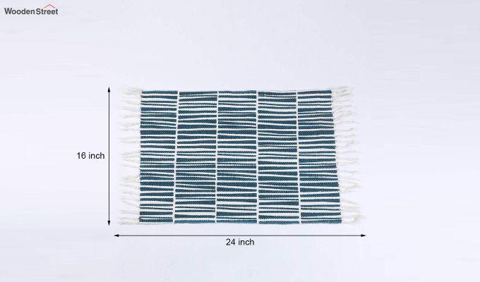 "Cotton Green Anti Skid Door Mat (24"" x 16"")-5"