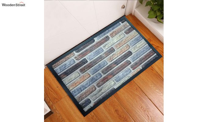 "Digital Printed Rubber Door Mat (23"" x 15"")-1"