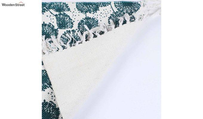 "Green Anti Skid Cotton Door Mat (24"" x 16"")-4"