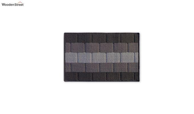 """Grey Nylon Anti Skid Door Mat (23"""" x 15"""")-2"""