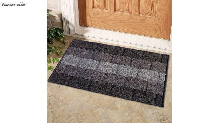 """Grey Nylon Anti Skid Floor Mat (23"""" x 15"""")-1"""