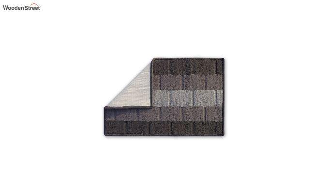"""Grey Nylon Anti Skid Door Mat (23"""" x 15"""")-3"""