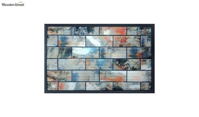 "Grey Rubber 3D Digital Printed Door Mat (23"" x 15"")-2"