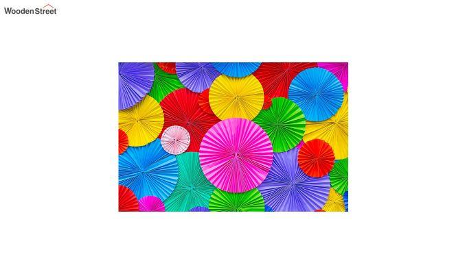 "Multicolour Nylon 3D Printed Door Mat (23"" x 15"")-2"