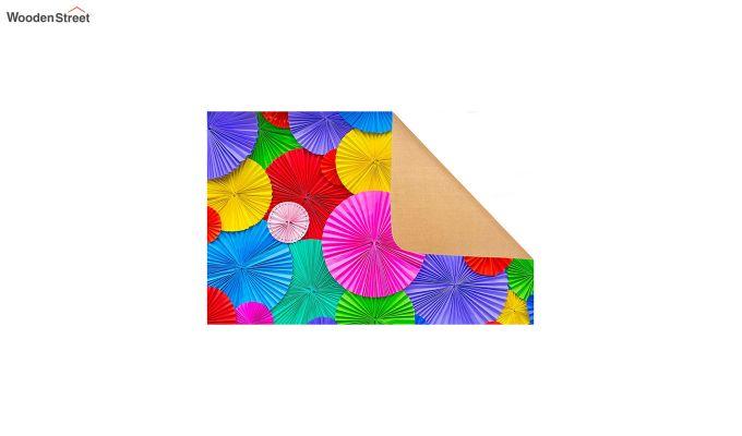 "Multicolour Nylon 3D Printed Door Mat (23"" x 15"")-4"