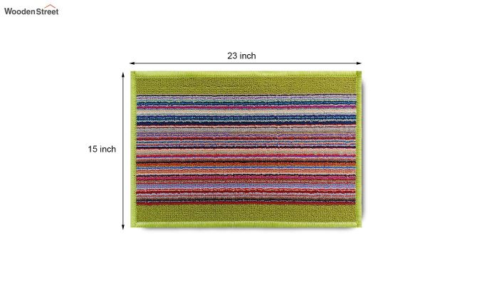 "Parrot Anti Slip Nylon Door Mat (23"" x 15"")-8"
