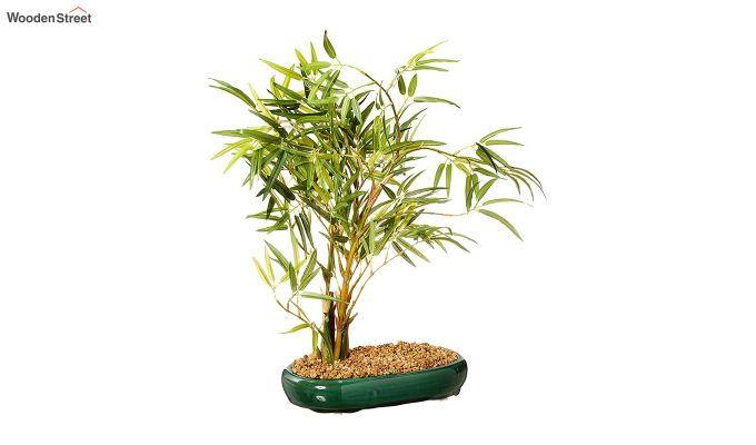 Artificial Bamboo Bonsai Plant With Pot-1