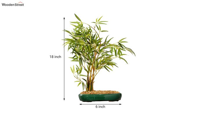 Artificial Bamboo Bonsai Plant With Pot-4