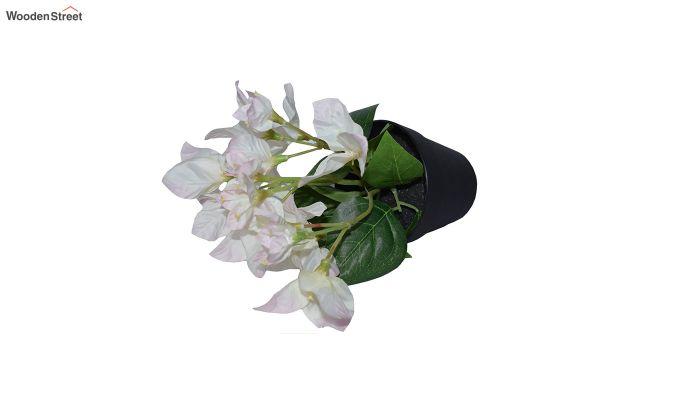 Artificial Bougainvillea Flowers In Plastic Pot-2